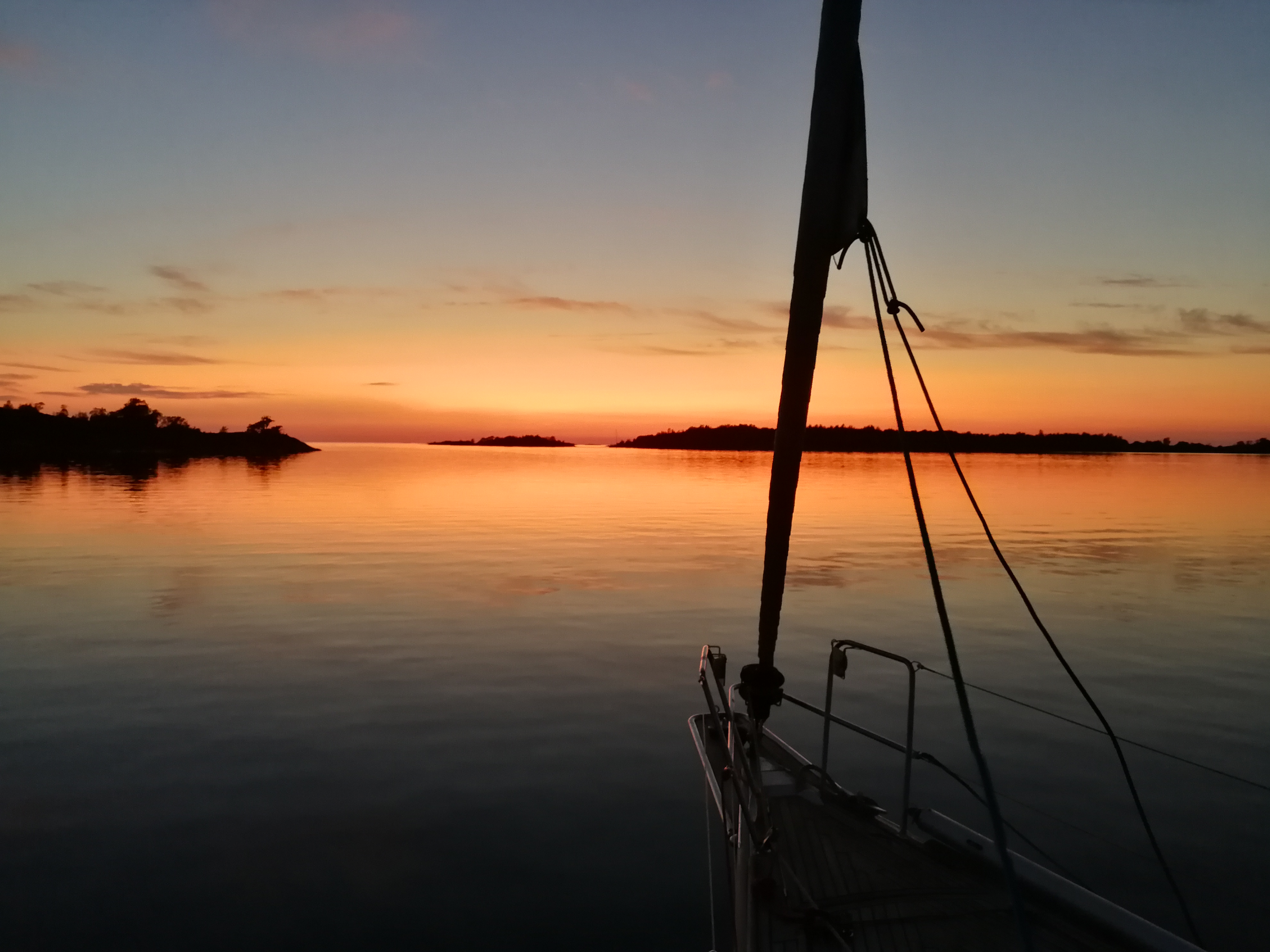 Sunset in the Baltic