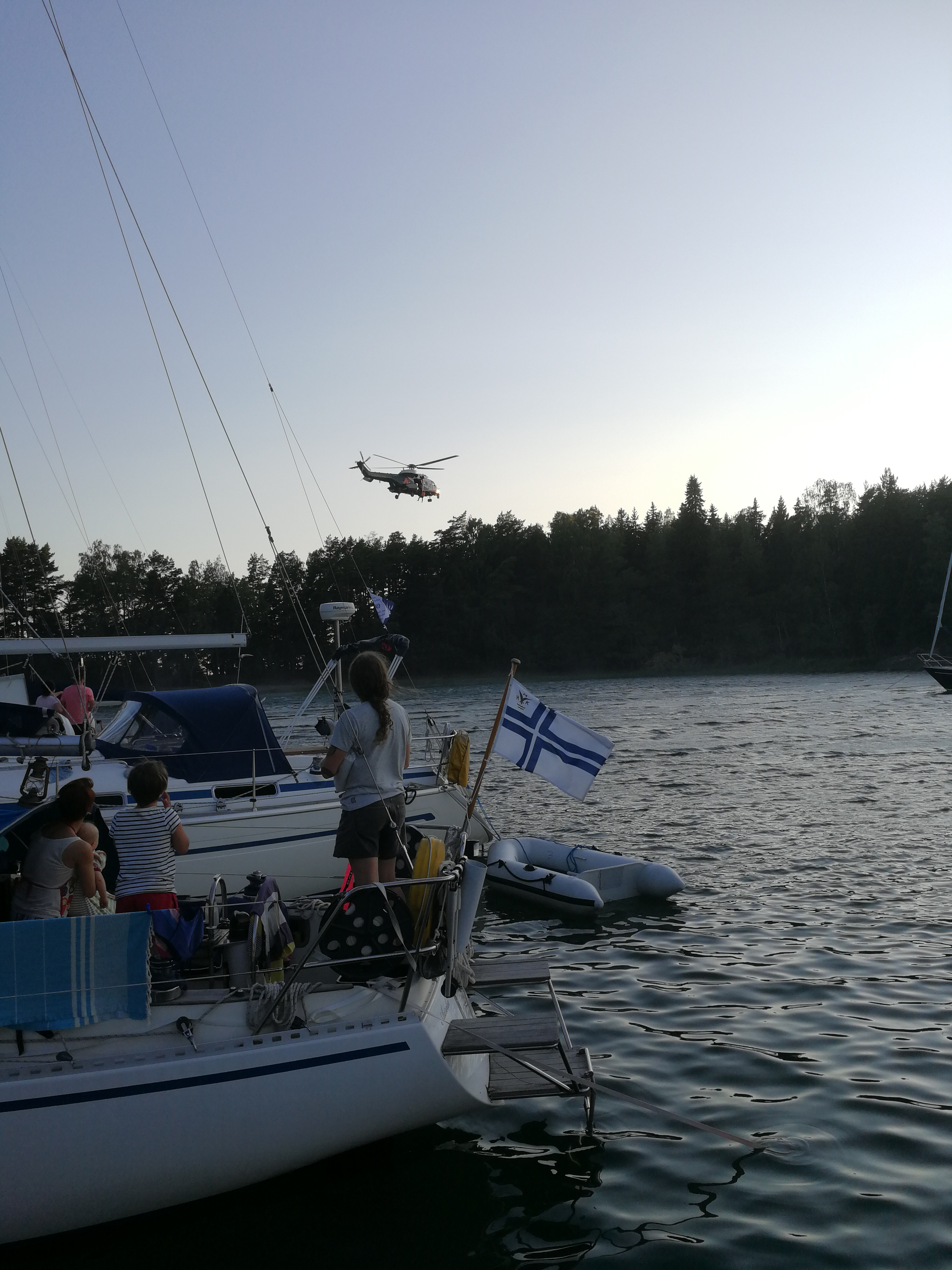 Finnish Coast Guard in Action