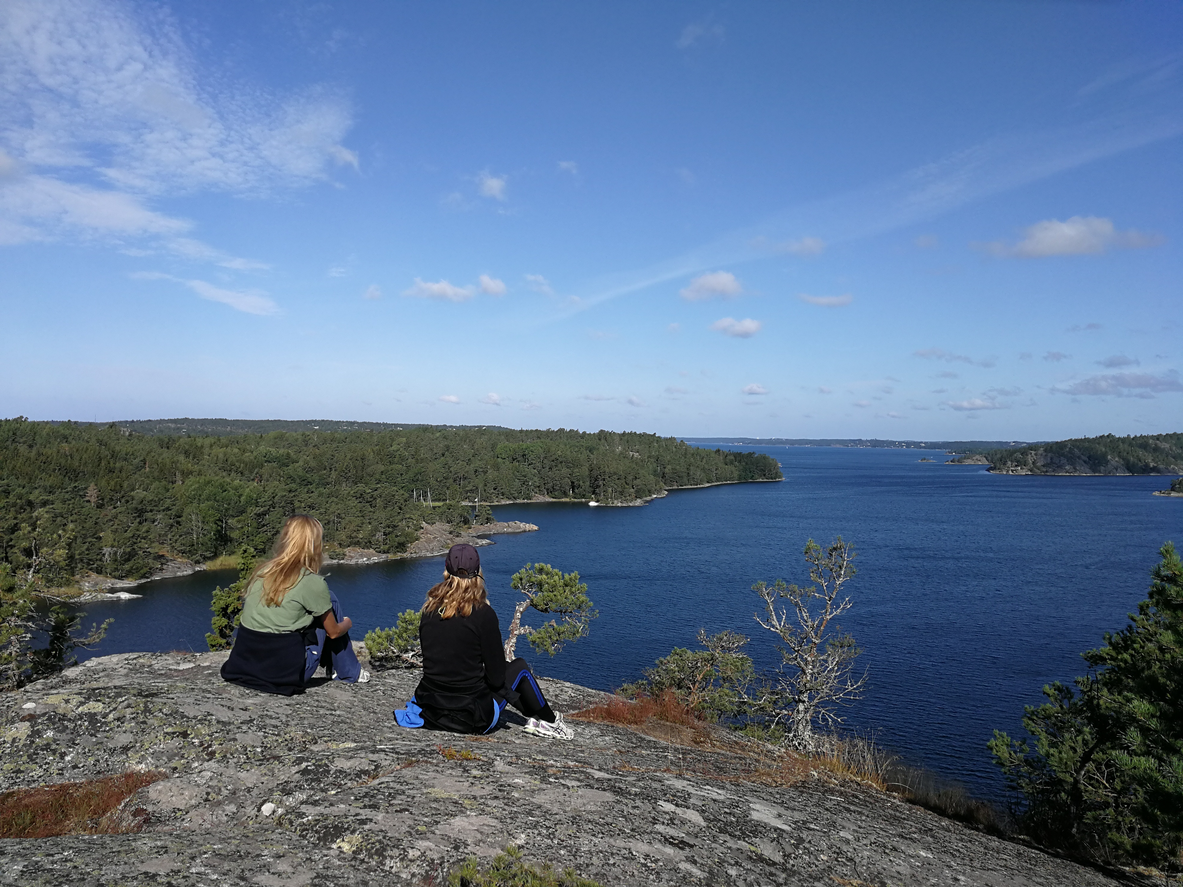 Early morning hikes on Swedish islands